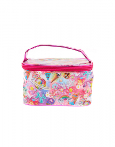 Claire's Rainbow Cosmic Sweets Makeup Bag 85590