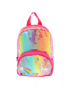Claire's Club Rainbow Unicorn Sequin Backpack 25126