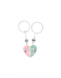 Claire's Best Friends Unicorn Keychains - 2 Pack 93894