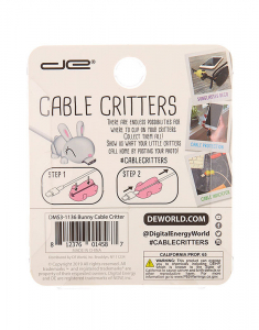 Claire's Bunny Cable Critter 98721