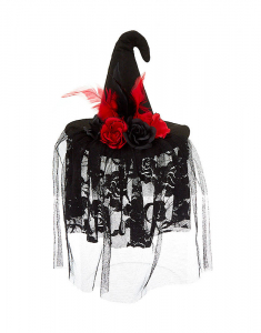Claire's Witch Hat Hair Fascinator 96313