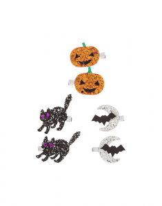 Claire's Glitter Halloween Hair Clips 23832