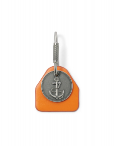 Fossil Leather Key Fob MLG0669833