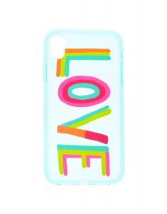 Claire's Rainbow Love Phone Case 31604