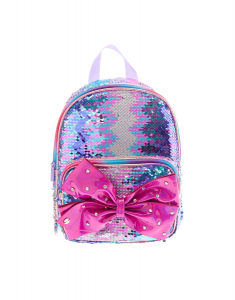 Claire's Jojo Siwa™ Reversible Sequins Small Backpack 63329