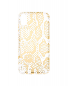 Claire's Gold Snake Skin Phone Case 95677
