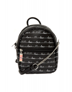 Claire's Love Script Mini Backpack Crossbody Bag 36784