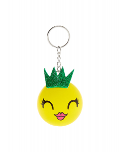 Claire's Pineapple Princess Stress Ball Keychain 43375