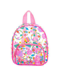 Claire's Club Transparent Sweet Treats Small Backpack 51004