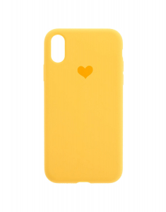 Claire's Yellow Heart Phone Case 53172