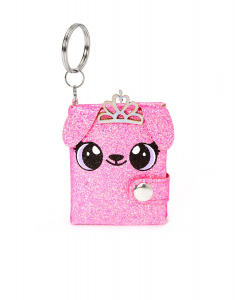 Claire's Alexa the Puppy Mini Diary Keychain 56129