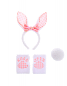 Claire's Gingham Bunny Dress Up Set 58280