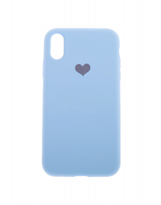 Claire's Baby Blue Heart Phone Case 67940