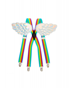 Claire's Rainbow Wing Braces 28338