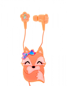 Claire`s Fox Earbuds&Winder 68404