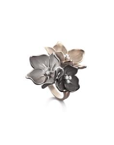 Annamaria Cammilli Bouquet Black GAN1186