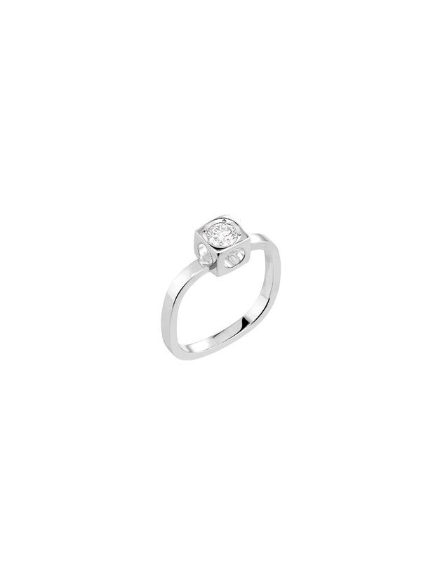 Inele Dinh Van Le Cube Diamant 208312-W