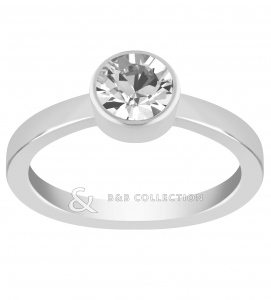 Lola and Grace Round Solitaire 5099553
