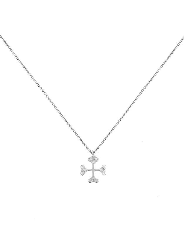 Coliere Ekan Diamonds Cross XK1631ML