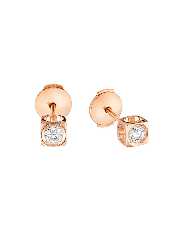 Cercei Dinh Van Le Cube Diamant 808115-P