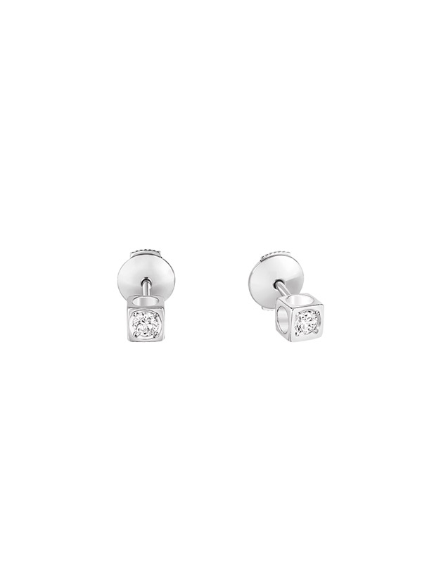 Cercei Dinh Van Le Cube Diamant 808312-W