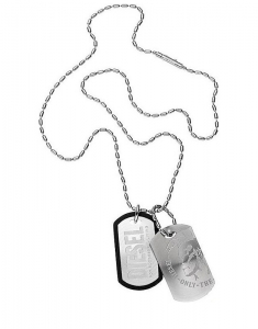 Diesel Double Dog Tag DX0011040