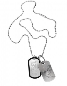 Diesel Double Dog Tag DX0202040