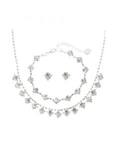 Claire's Party Jewelry Set colier-bratara-cercei 3930