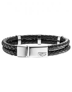 Police Men Bracelets PJ.25715BLB/01-S