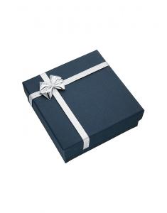 Cutiuta universala pentru bijuterii ET-5 U BLUE SI ARGINTIU