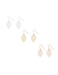 Claire's Fashion Tree Earrings Set Cercei 97805