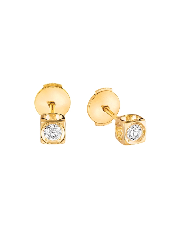 Cercei Dinh Van Le Cube Diamant 808111-Y