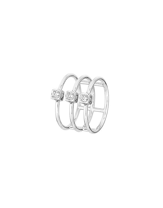 Inele Dinh Van Le Cube Diamant 208612-W