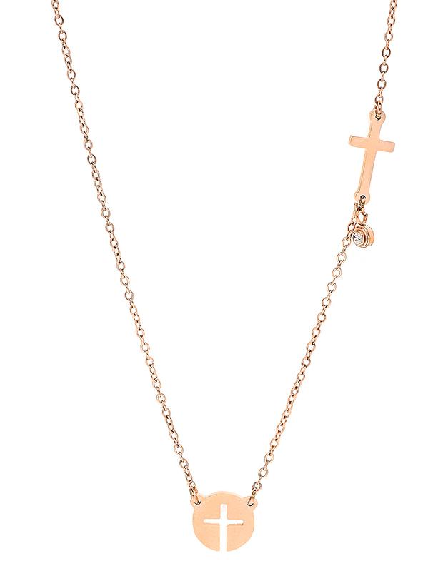 Coliere Zag Bijoux Pink SNS6546-11102UNI