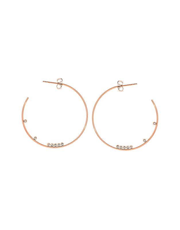 Cercei Zag Bijoux Pink SEC4049-14702WHT