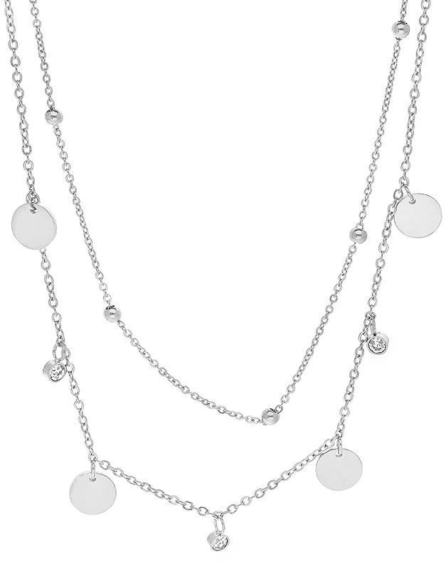 Coliere Zag Bijoux White SNX7110-09800WHT