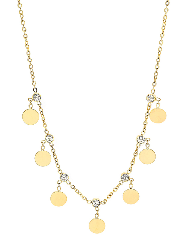 Coliere Zag Bijoux Yellow SNS6784-14301WHT
