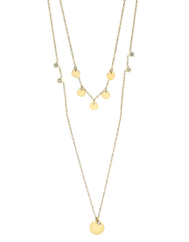 Coliere Zag Bijoux Yellow SNX6076-14901WHT