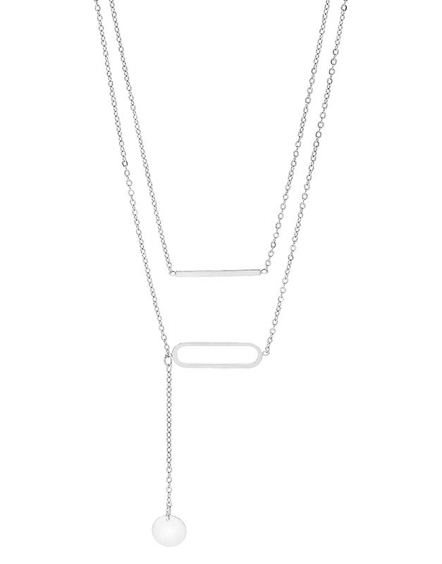 Coliere Zag Bijoux White SNX5913-09000UNI