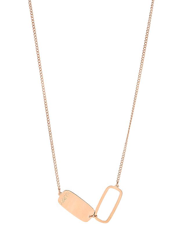 Coliere Zag Bijoux Pink SNS6389-10102UNI