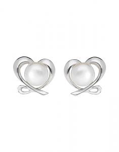 Bijuterii Argint Love ES3602PE-WH