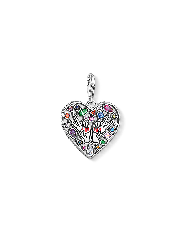 pandantiv Thomas Sabo Charm Club Love & Friendship 1745-314-7