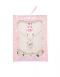 Claire's Novelty Jewelry Set colier-bratara-cercei 99762
