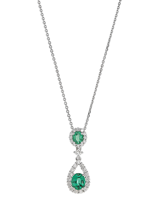 colier Giorgio Visconti Precious Colors GBX37961S-0.47CT