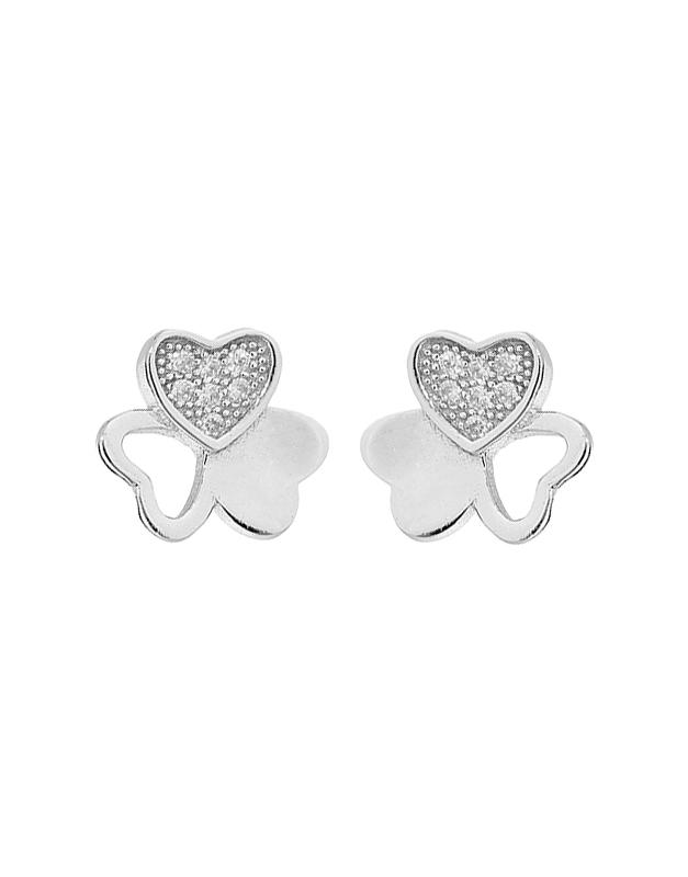Cercei Bijuterii Argint Luck E612049-EG-W