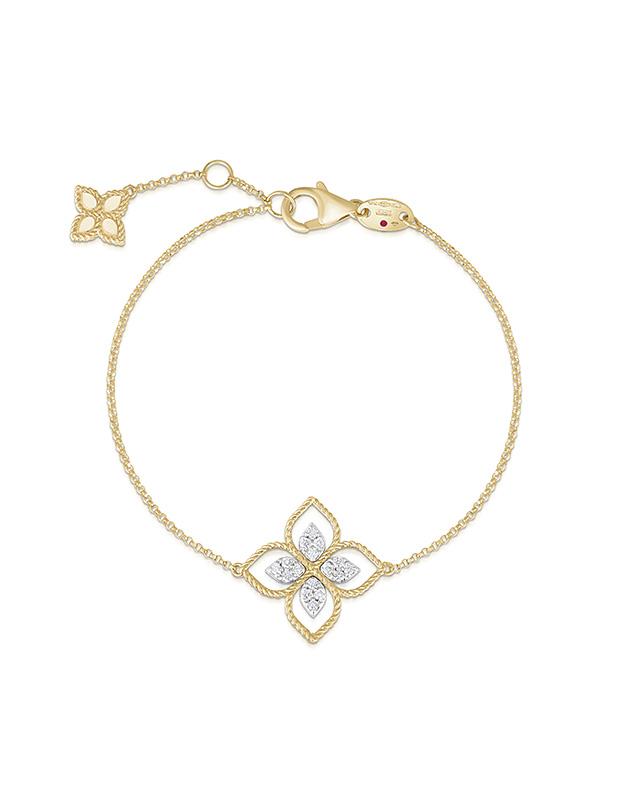 Bratari Roberto Coin Princess Flower ADR777BR2665YW