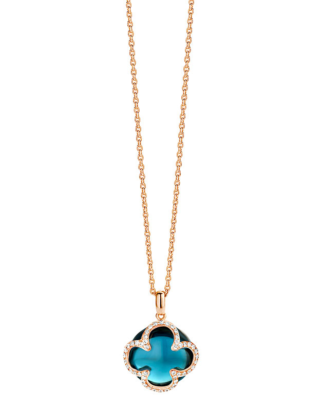 Coliere Tirisi Jewelry Seoul Flower Due TN2067LBT-P