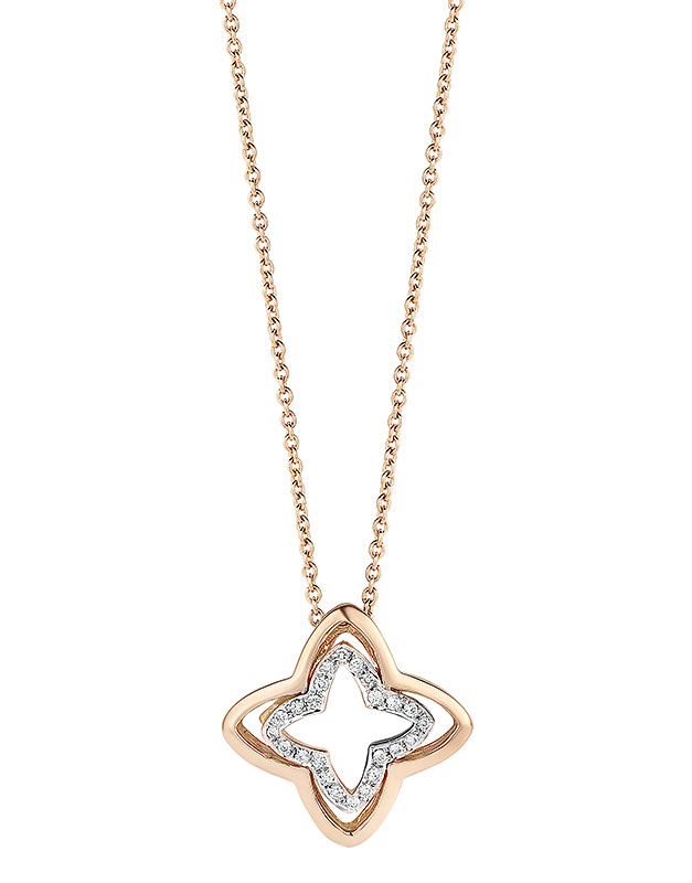 Coliere Tirisi Jewelry Seoul Flower Due TN2115D-PW