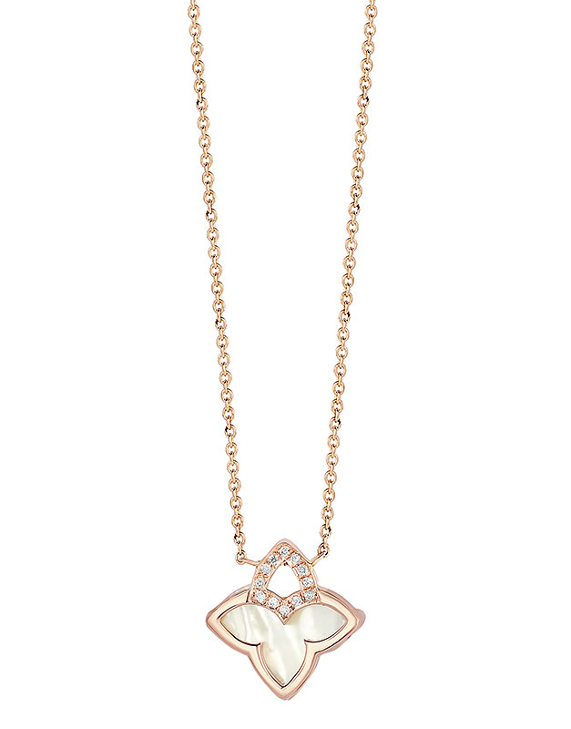 Coliere Tirisi Jewelry Seoul Flower Due TN2117SC-P