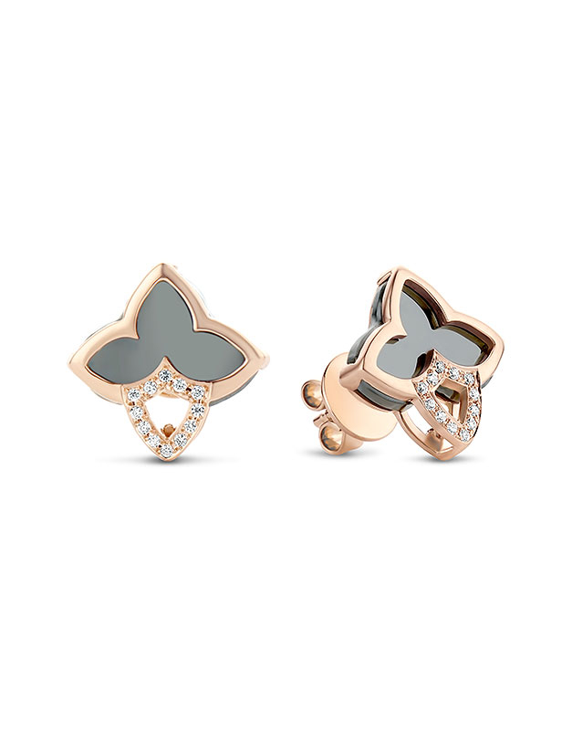 cercei Tirisi Jewelry Seoul Flower Due TE7097HM-P